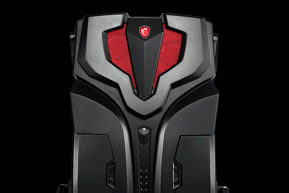 msi vr one backpack gaming pc htc vive virtual reality
