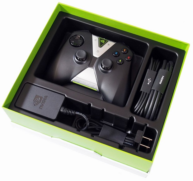 SHIELD Android TV Packaging And Bundle