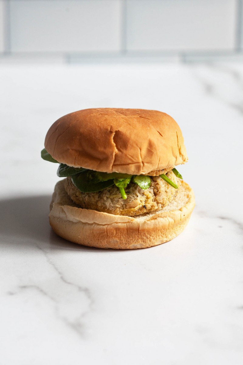 Artichoke, White Bean & Quinoa Burgers | The Full Helping